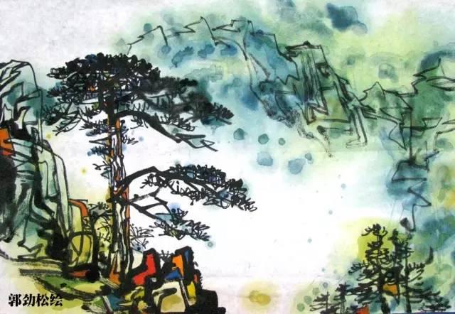 迎客松 /   黄山市古称徽州,境内的黄山为世界自然与文化双遗