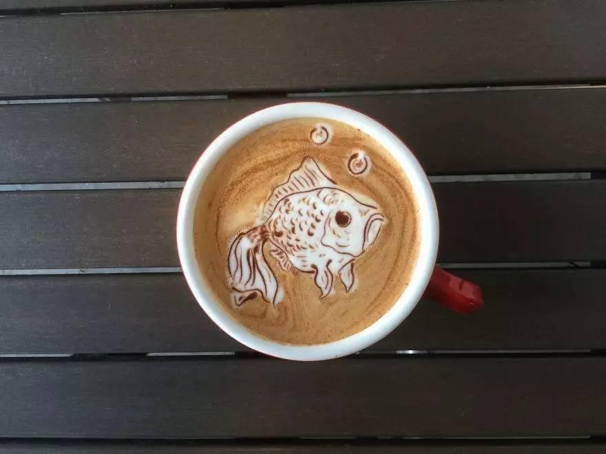 现在做的咖啡拉花
