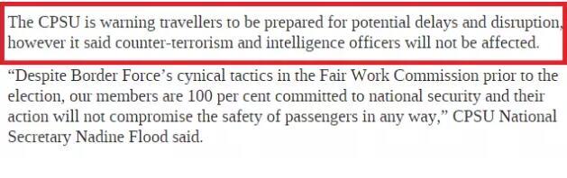 9月下旬起,澳洲签证和出出境或面对严重影响和耽搁