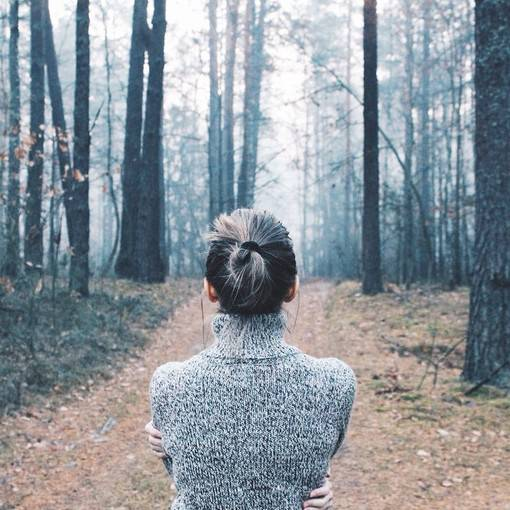你是在什么时候决定选择放弃一个人的?图片