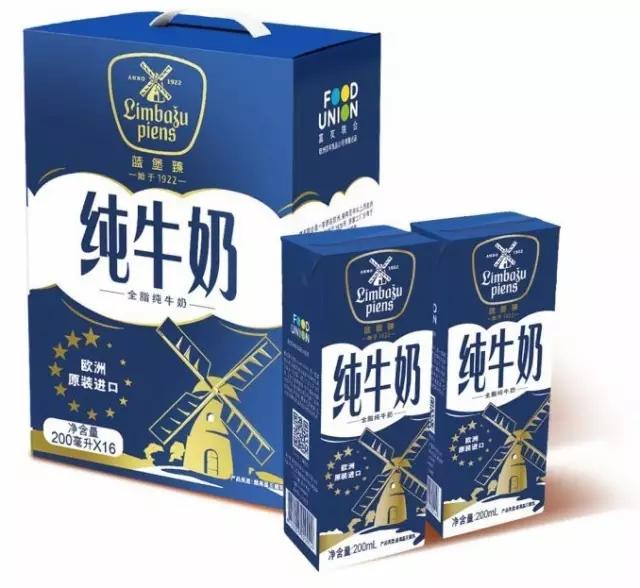 拉脱维亚乳业牛奶来中国推出两款v乳业巨头玉米面馍发硬图片