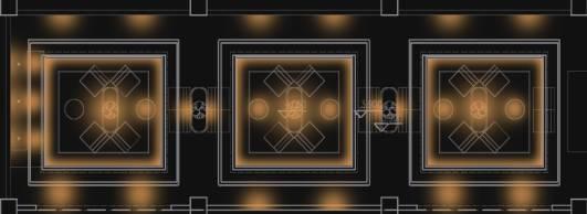 设定画大小为150*140mm,若使用光束角为11°的射灯来作为重点照明.图片