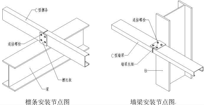 钢构cad图纸