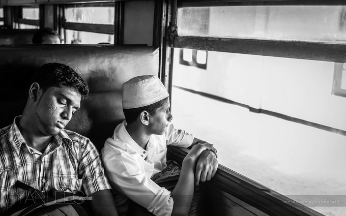 【斯里兰卡的海边火车】驶向最繁华的港湾