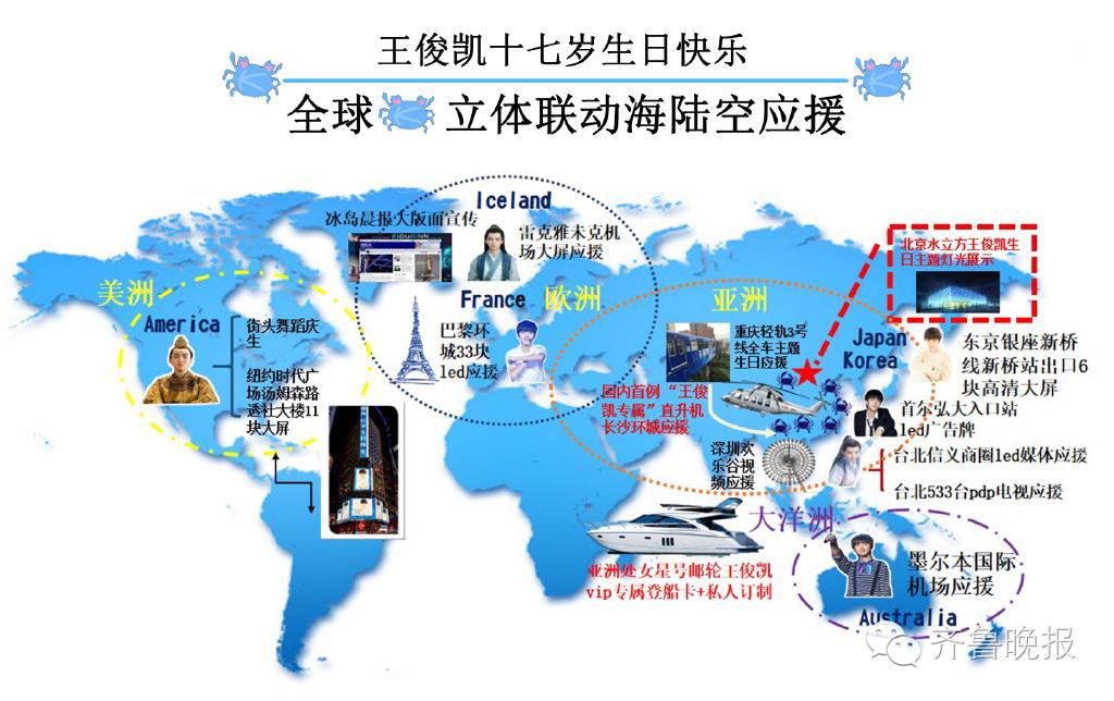 到韩国首尔和日本东京, 又到北美纽约,法国巴黎,墨尔本,冰岛全国
