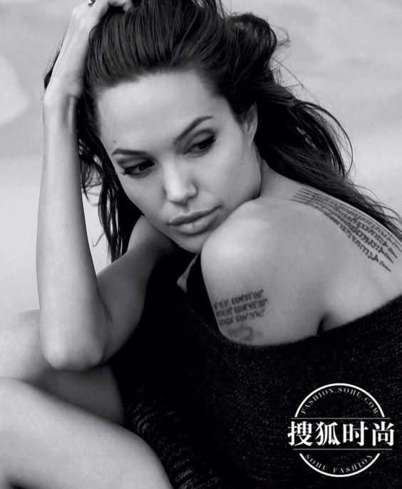 时尚 正文  还有她热爱的纹身.