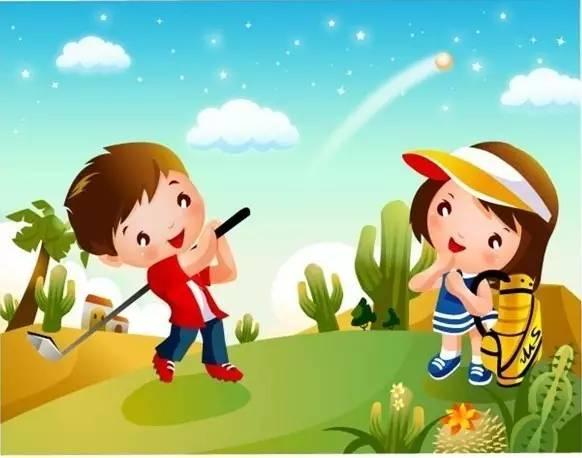 塘厦高尔夫球教育进校园广受欢迎
