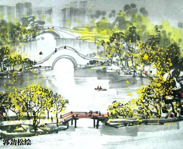 江苏十三地市景点手绘版,最美江苏欢迎您!