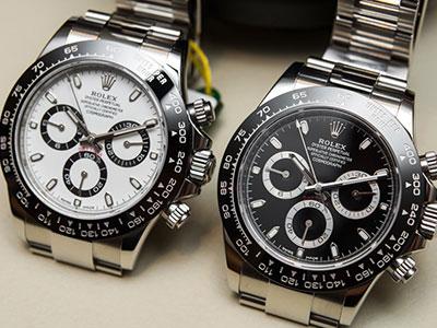 回收二手劳力士迪通拿手表热门款图片