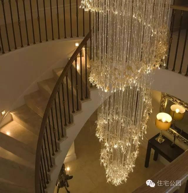 农村别墅有楼梯 楼梯照明做了么?抹黑上楼绊脚过么