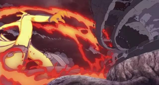 《火影忍者》霸气九尾·须佐能乎,鸣佐vs大筒木桃式图片
