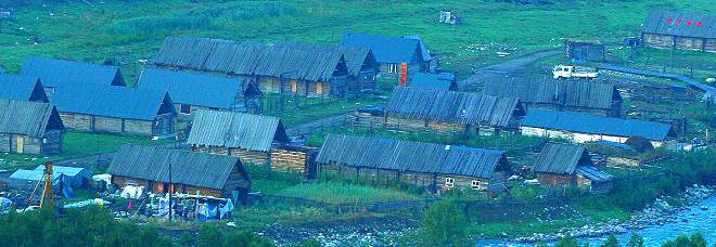 秋色下的白哈巴村和图瓦人