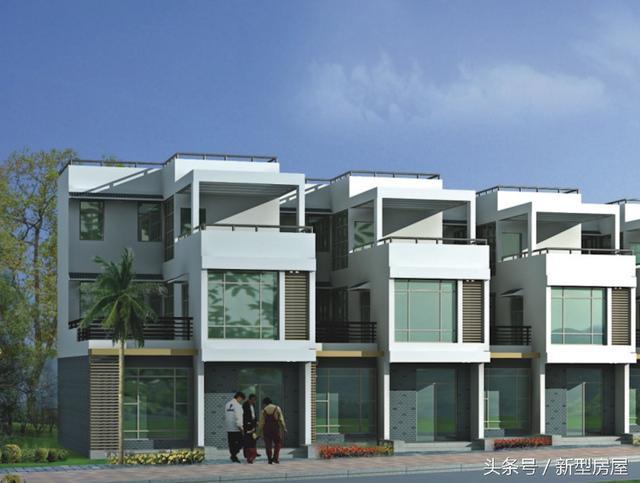 20万搞定新农村别墅 7米x11米 现代外观传统布局