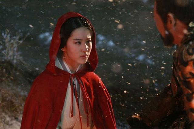 雪景古装,杨颖ps过度成芭比,刘诗诗美的不像话!v雪景电视剧老亮剑图片
