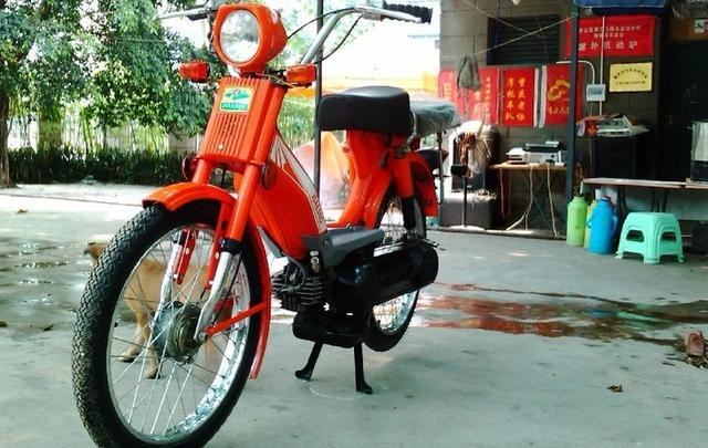 童年的记忆 中国第一款家用摩托车-嘉陵CJ50