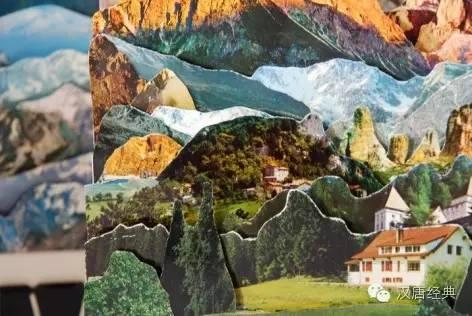 间的山川湖海 风景拼贴画 Caterina Rossato