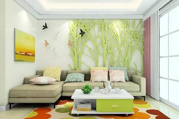 一百平方的房子欧式沙发摆放图片