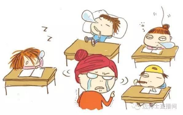 上课总走神,教室里稍有一点动静,他就会东张西望…… 上课时小动作多图片