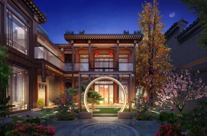府�9d�Xk��^[_王府门,垂花门,代表着中国传统望族名门的封面,中德携手六家顶级古建