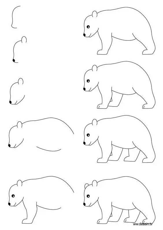 史上最简单的简笔画教程,一学就会