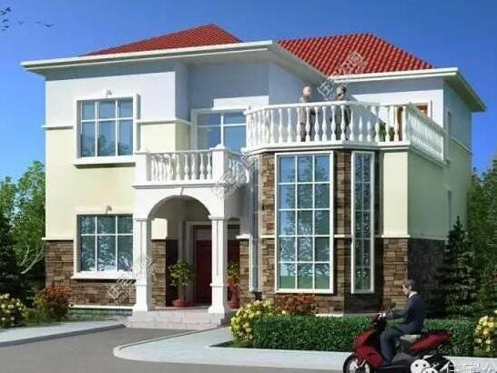 4套农村别墅户型设计,25万,你家需要多钱?含图纸