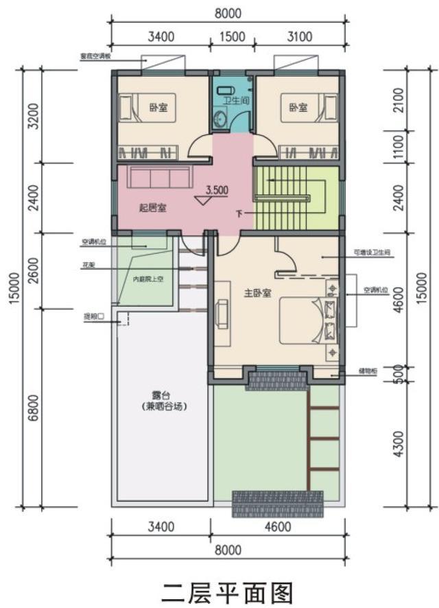 房产 正文  微信公众号:住宅公园,免费300套自建房别墅图纸下载,各种图片