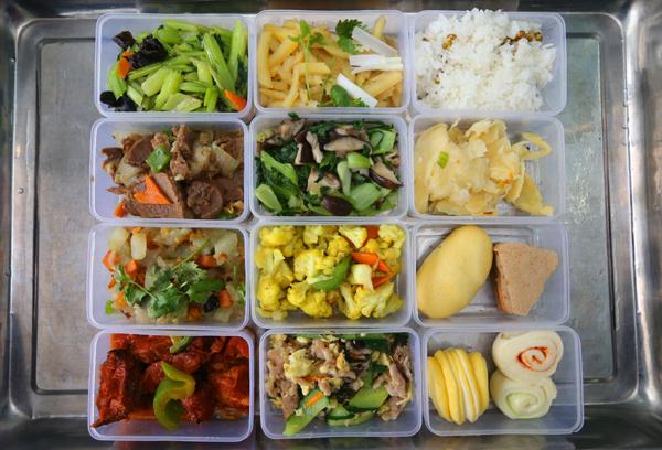 金普新区v新区中小学生食谱午餐家常菜谱午饭营养