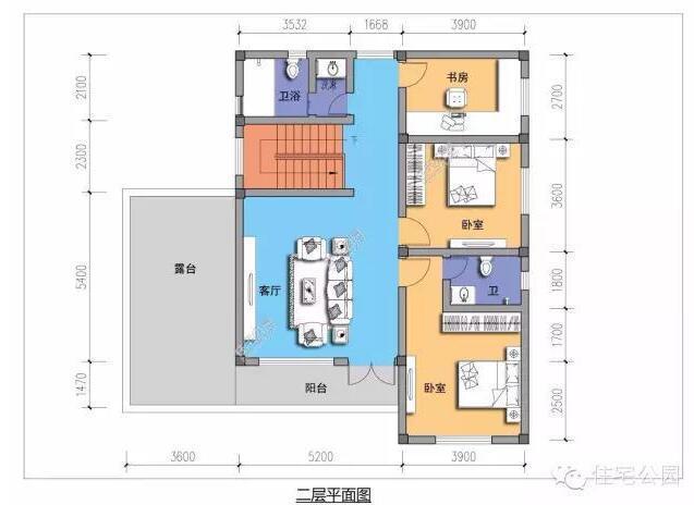 4套农村别墅户型设计,25万,你家需要多钱 含图纸