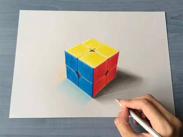 超逼真3d铅笔画,视觉盛宴!