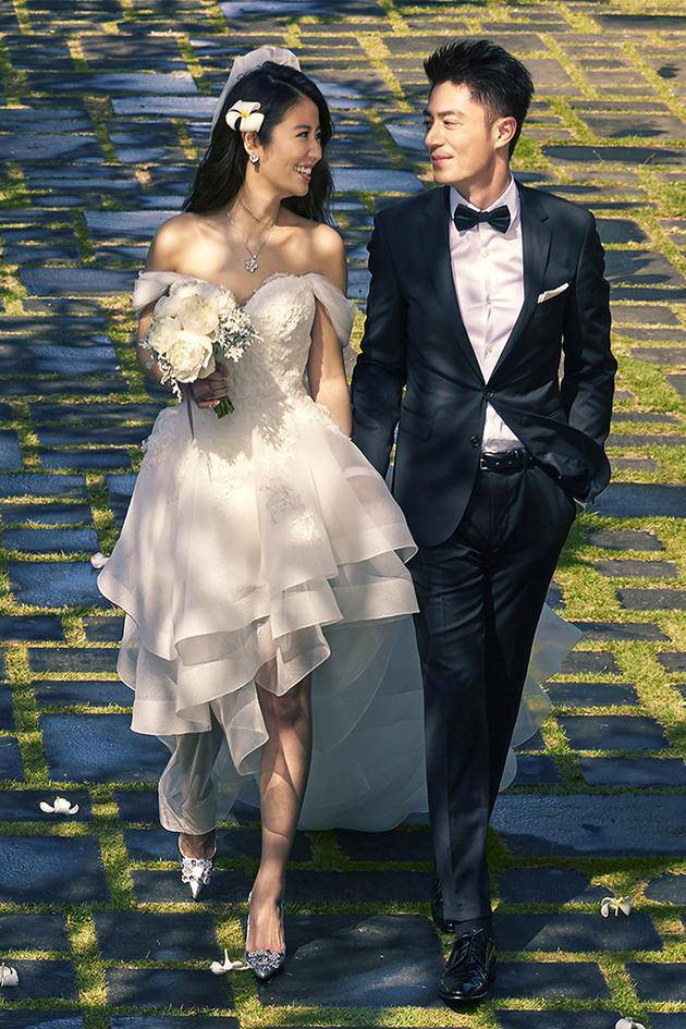 林心如霍建华结婚照图片