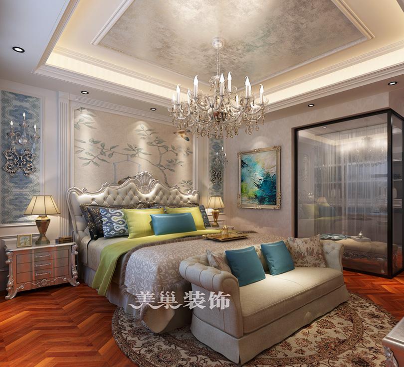 九裕龙城装修效果图 160平四室两厅传统欧式风格图片