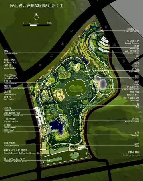 西安植物园新区位于西安市南郊,占地630亩,是老园区的两倍多,而