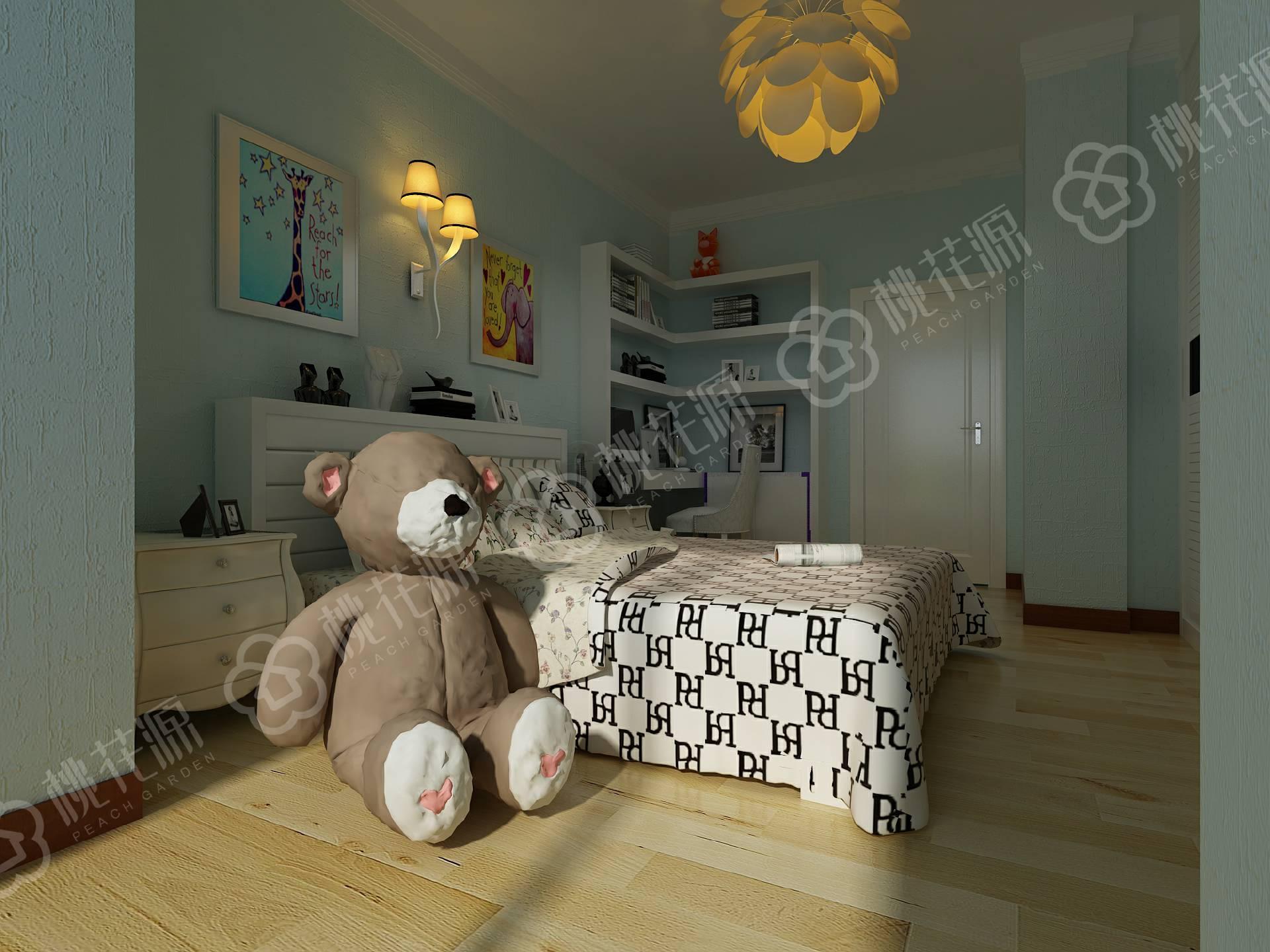 想要儿童卧室手绘墙的装修,不如选择硅藻泥厂家的