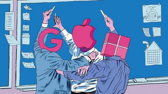 亚马逊、微软、谷歌,巨头们围绕云计算酝酿厮杀
