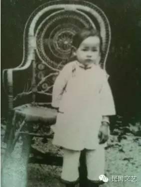 童年林徽因图片