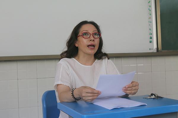 南充西外学校召开人大换届选举工作动员大会
