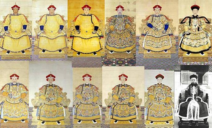 二帝画像,代表清朝宫廷画的最高水准