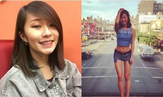 刘欢25岁女儿刘一丝近照,身材火辣秀美腿纹身不像