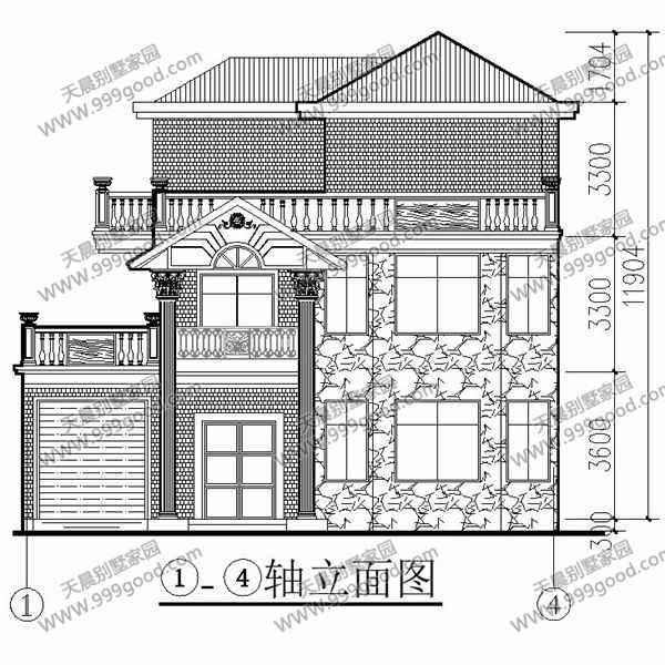 三层农村自建房 农村别墅设计12x11米