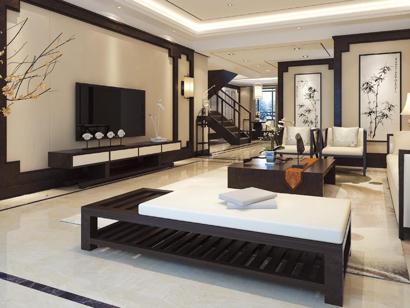 集成墙面&新中式装修风格,这麽素净的家谁不爱