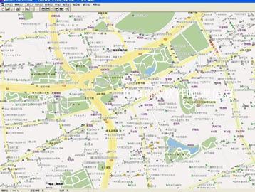 上海市电子地图矢量数据