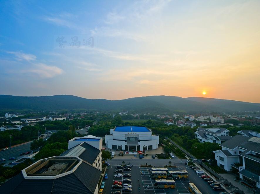 避台风,国庆在常熟最大酒店看日落【十一特辑】