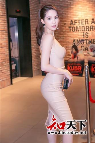 【知天下】越南女星邓玉贞资料近照