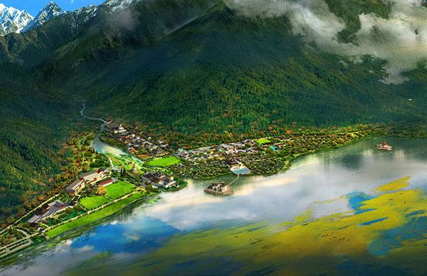 17,鲁朗世界旅游小镇(林芝)图片
