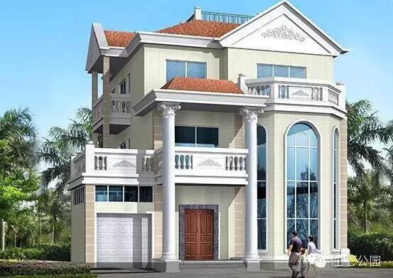 下面是7套农村三层别墅,尺寸大小适中,适合大多数家庭的宅基地,内部