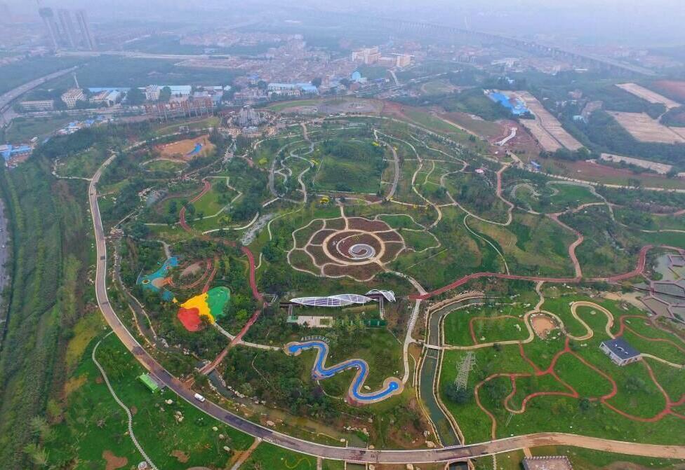 西安植物园新区将在国庆节10月1日对外开放