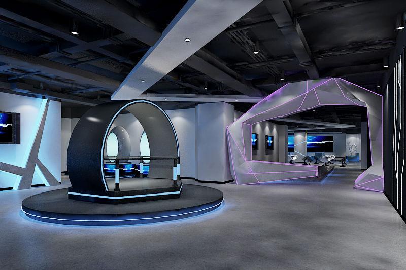 vr空间现实虚拟体验 丰富成都市民生活方式图片