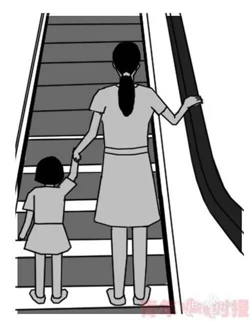 【危险】纬十二路一商场,三岁孩子手被电动扶
