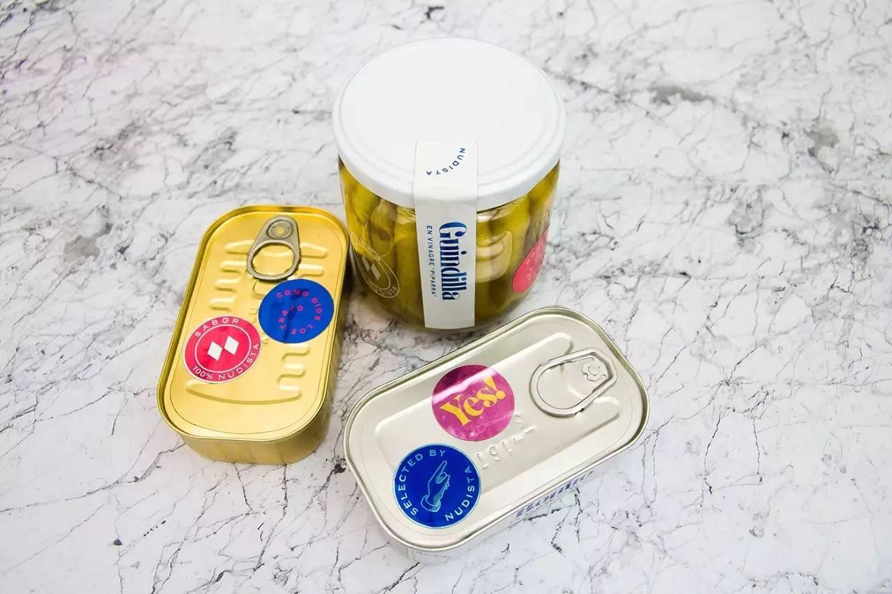 nudista罐头食品公司vi视觉设计