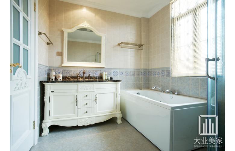晒晒别墅装修欧式古典风格装修后的实景照图片